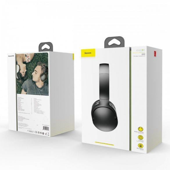Baseus Encok Wireless headphone D02 Black