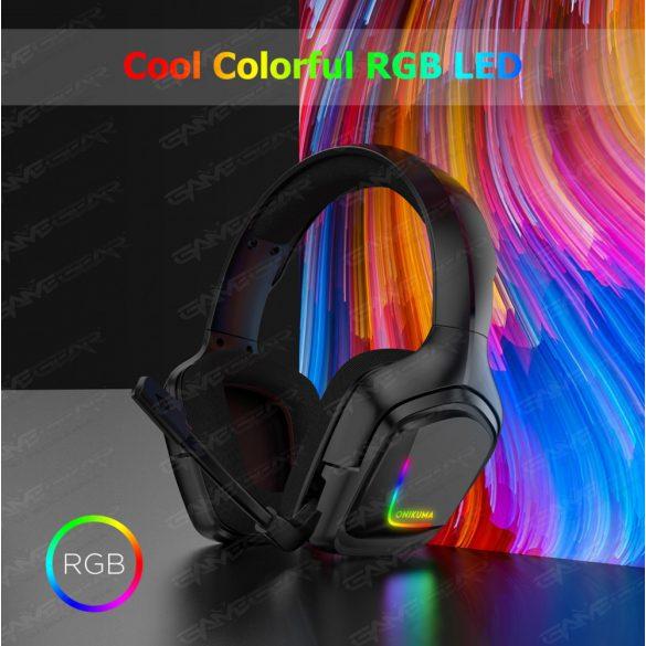 ONIKUMA K20 RGB BLACK + СТОЙКА КОМПЛЕКТ
